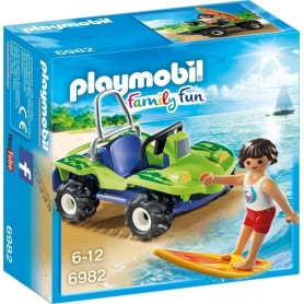 SURFISTA CON BUGGY PLAYMOBIL 6982