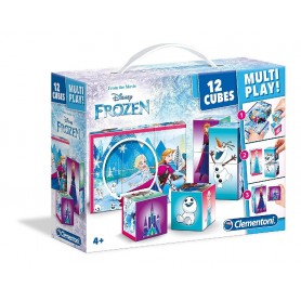 MALETÍN 12 CUBOS MULTI-PLAY FROZEN