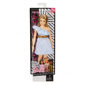BARBIE FASHIONISTA, MUÑECA PURELY PINSTRIPED