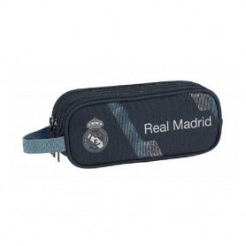 "ESTUCHE PORTATODO TRIPLE REAL MADRID ""BLACK"""
