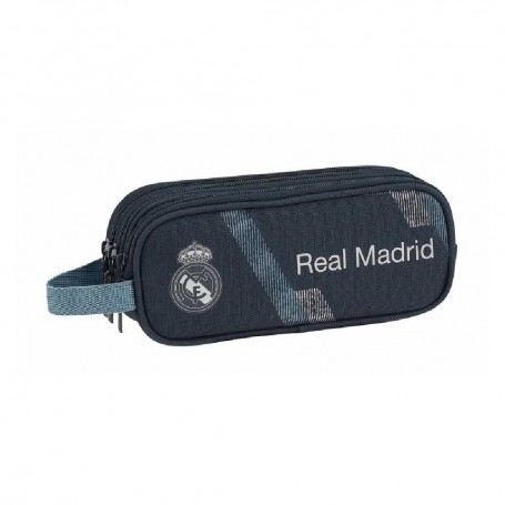"ESTUCHE PORTATODO TRIPLE REAL MADRID ""BLACK"""
