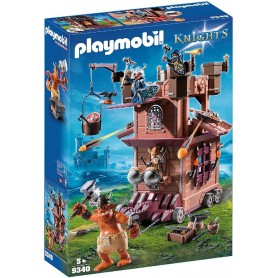 PLAYMOBIL KNIGHTS FORTALEZA MÓVIL GNOMOS 9340