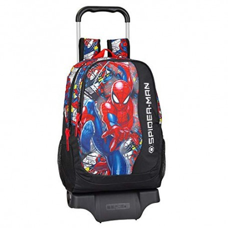 MOCHILA CARRO TROLLEY SPIDERMAN MARVEL 44CM