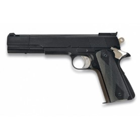 PISTOLA GAS HG-124 NEGRA 6 MM HFC