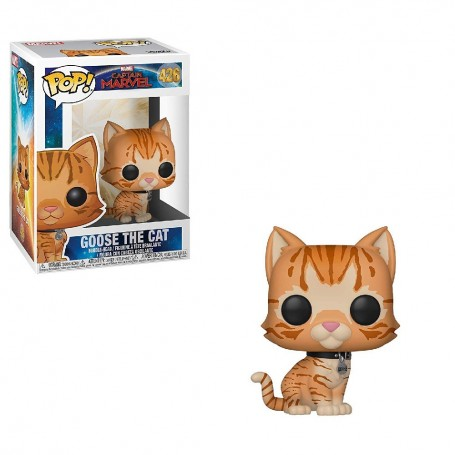 CAPTAIN MARVEL - POP GOOSE THE CAT