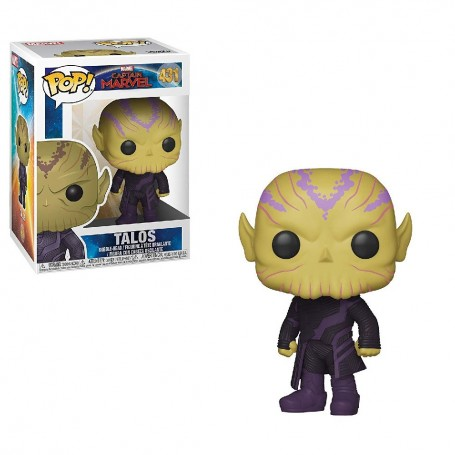 CAPTAIN MARVEL - POP TALOS