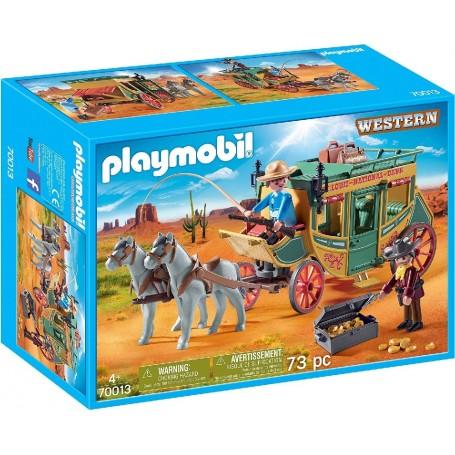 DILIGENCIA PLAYMOBIL WESTERN 70013
