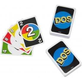 DOS, JUEGO DE CARTAS DE UNO MATTEL GAMES