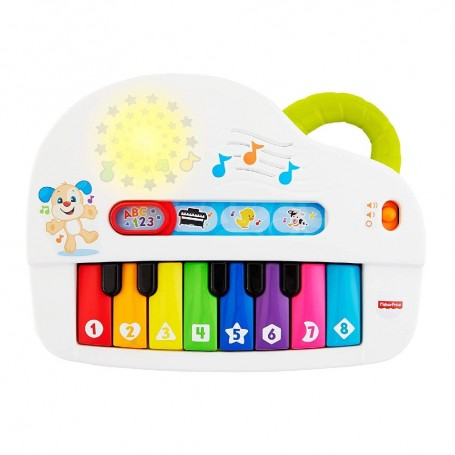 FISHER-PRICE PIANO JUEGA Y APRENDE