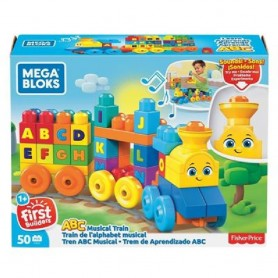 MEGA BLOCKS - TREN MUSICAL ABC