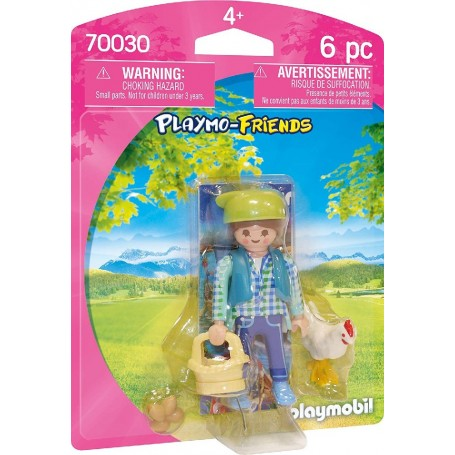 PLAYMO-FRIENDS GRANJERA - PLAYMOBIL 70030