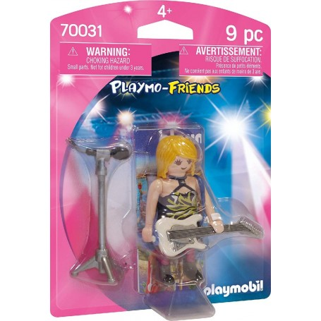 PLAYMO-FRIENDS ESTRELLA DEL ROCK - PLAYMOBIL 70031