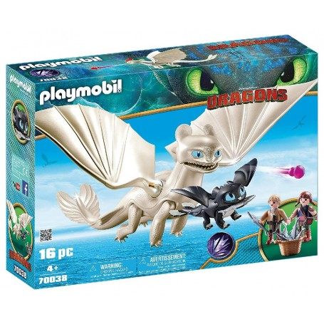 PLAYMOBIL DRAGONS 3 FURIA DIURNA BEBE DRAGON 70038