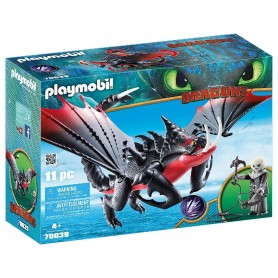 DRAGONS 3 AGUIJÓN VENENOSO Y CRIMMEL PLAYMOBIL 70039
