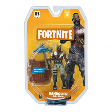 FIGURA SOLO MODE BANDOLIER - FORTNITE