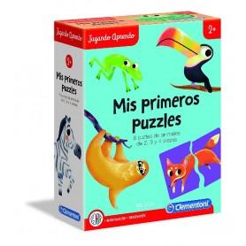 JUGANDO APRENDO - MIS PRIMEROS PUZZLE +2 AÑOS