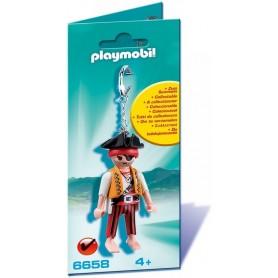 PLAYMOBIL - LLAVERO PIRATA 6658