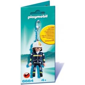 PLAYMOBIL - LLAVERO BOMBERO 6664