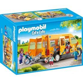 AUTOBÚS ESCOLAR PLAYMOBIL 9419