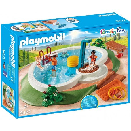PISCINA FAMILY FUN PLAYMOBIL 9422