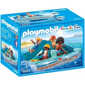PATINETE BARCA A PEDALES PLAYMOBIL 9424