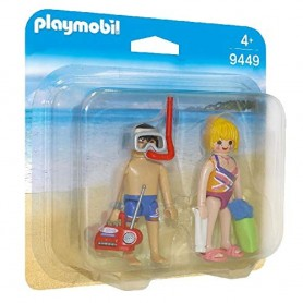 PLAYMOBIL PACK FIGURAS PLAYA - PLAYMOBIL 9449