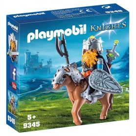 PLAYMOBIL KNIGHTS GNOMO CON PONI - PLAYMOBIL 9345