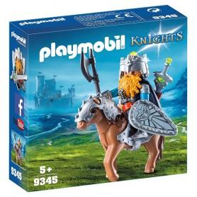 PLAYMOBIL KNIGHTS GNOMO CON PONI - PLAYMOBIL 9345