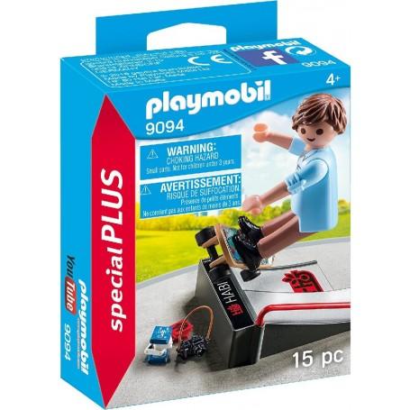 SKATER CON RAMPA PLAYMOBIL 9094