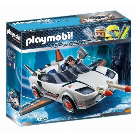 AGENTE SECRETO Y RACER  PLAYMOBIL 9252