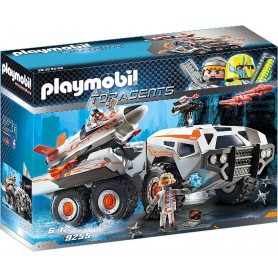 CAMIÓN SPY TEAM PLAYMOBIL 9255