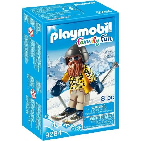 ESQUIADOR CON SNOWBLADES PLAYMOBIL 9284