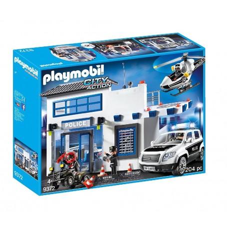 MEGA SET DE POLICÍA PLAYMOBIL 9372