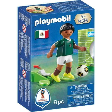 JUGADOR DE FÚTBOL - MÉXICO PLAYMOBIL 9515