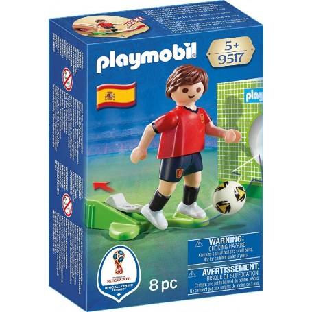 JUGADOR DE FÚTBOL - ESPAÑA PLAYMOBIL 9517