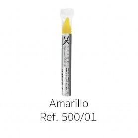 BARRA MAQUILLAJE AMARILLO 14X110 MM