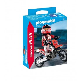 MOTOCROSS PLAYMOBIL SPECIAL PLUS 9357