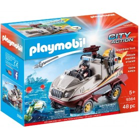 PLAYMOBIL CITY ACTION COCHE ANFIBIO 9364