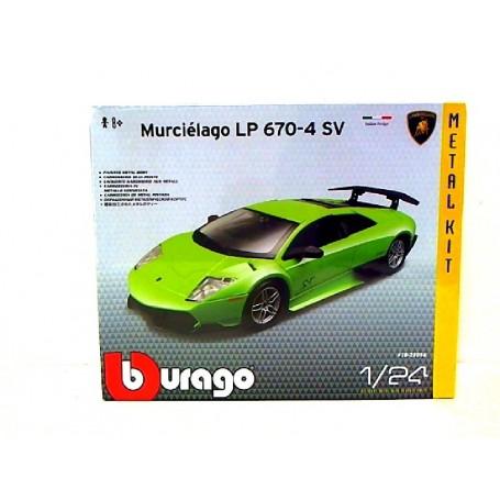 BBURAGO MAQUETA KIT LAMBORGHINI MURCIELAGO LP 670
