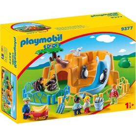 PLAYMOBIL 1.2.3 ZOO - PLAYMOBIL 9377