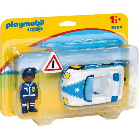 1.2.3 COCHE DE POLICÍA - PLAYMOBIL 9384