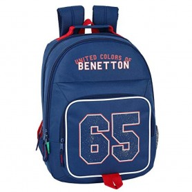 MOCHILA DOBLE ADAPTABLE BENETTON UCB 65 BOY