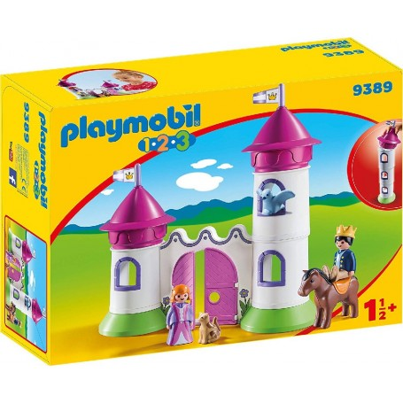 1.2.3 CASTILLO CON TORRE APILABLE PLAYMOBIL 9389