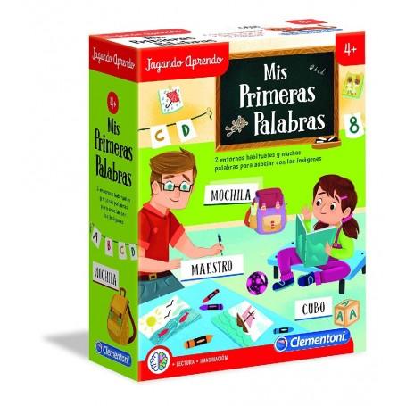 APRENDO MIS PRIMERAS PALABRAS +4 AÑOS