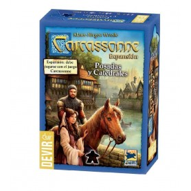 EXPANSION CARCASSONNE POSADAS Y CATEDRALES