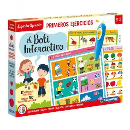 BOLI INTERACTIVO PRIMEROS EJERCICIOS +3 AÑOS