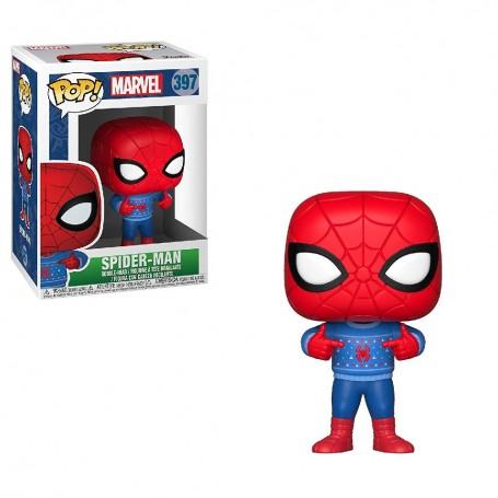 MARVEL HOLIDAY - POP SPIDER-MAN CON JERSEY
