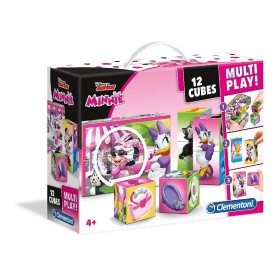 MALETIN 12 CUBOS MULTIPLAY MINNIE MOUSE