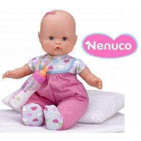 NENUCO CON BIBERON MAGICO - ROSA