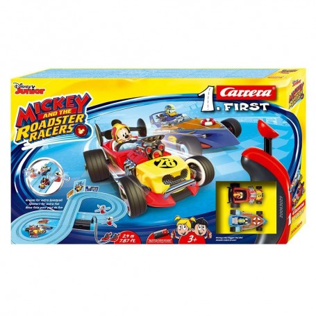 CARRERA FIRST - CIRCUITO MICKEY AND THE ROADSTER RACERS